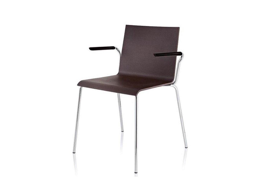 Moderní konferenční židle s područkami Casablanca