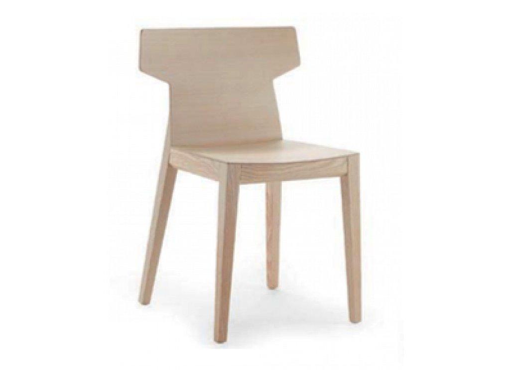 Moderní dřevěná židle Rama