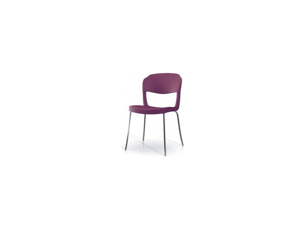 Moderní židle Evo Strass