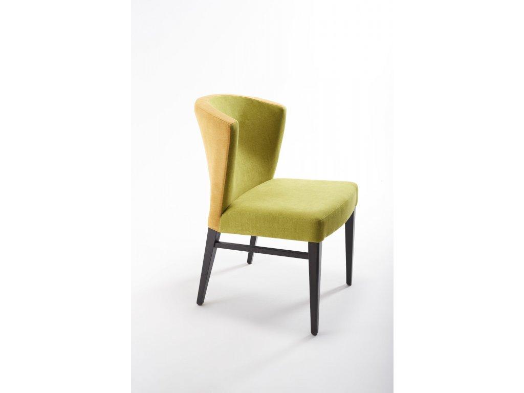 Stylová čalouněná židle Twin