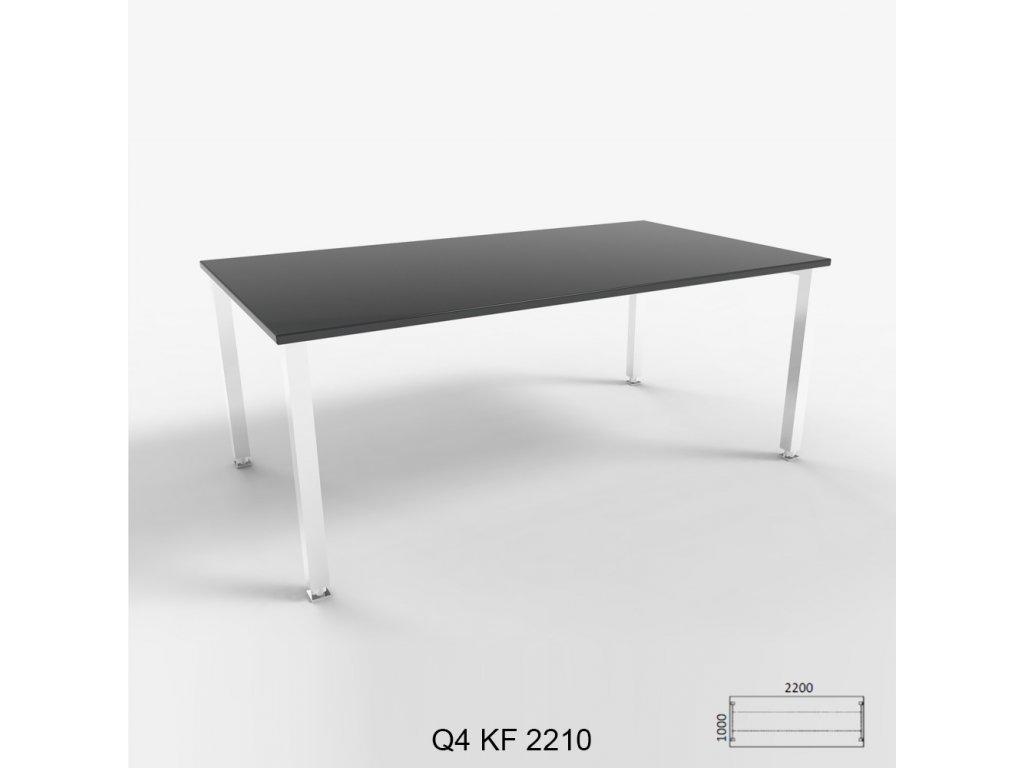 Kancelářsky stůl Q4. Na objednávku. Cena na dotaz.