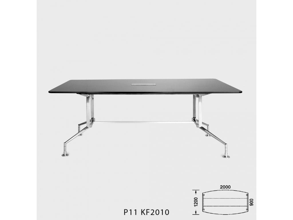 Kancelářský stůl Roayl P 11. Na objednávku. Cena na dotaz.