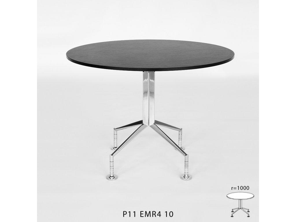 Konferenční stůl Royal P 11 kruhový. Na objednávku. Cena na dotaz.