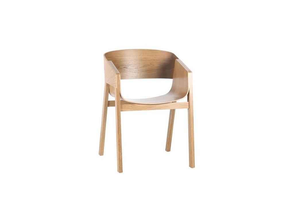 Dřevěné jídelní křeslo Merano