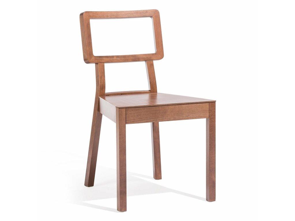 Moderní dřevěná židle Cordoba.Na objednávku. Cena na dotaz.