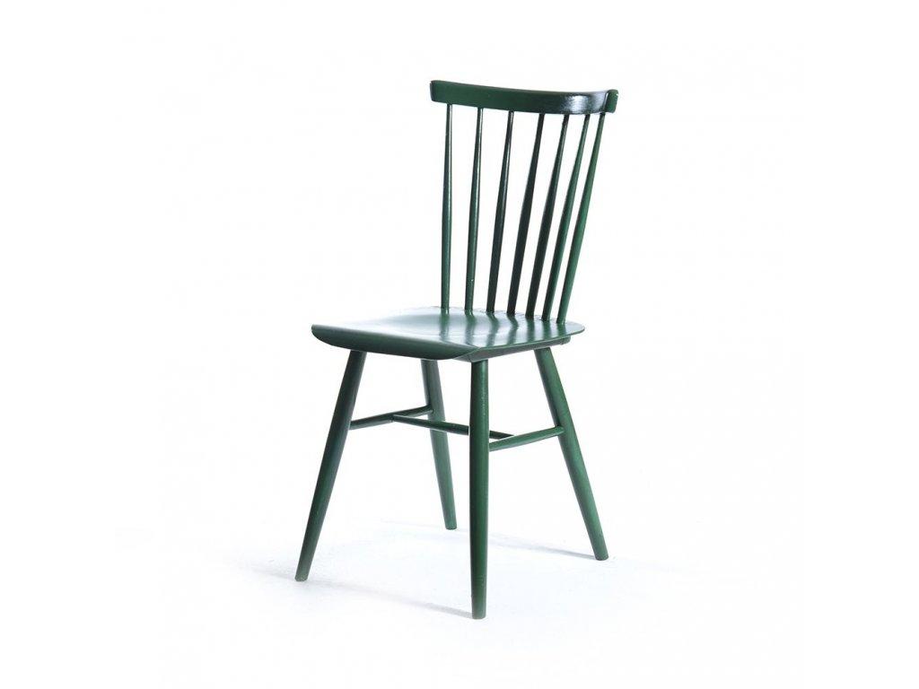 Retro dřevěná židle Ironica
