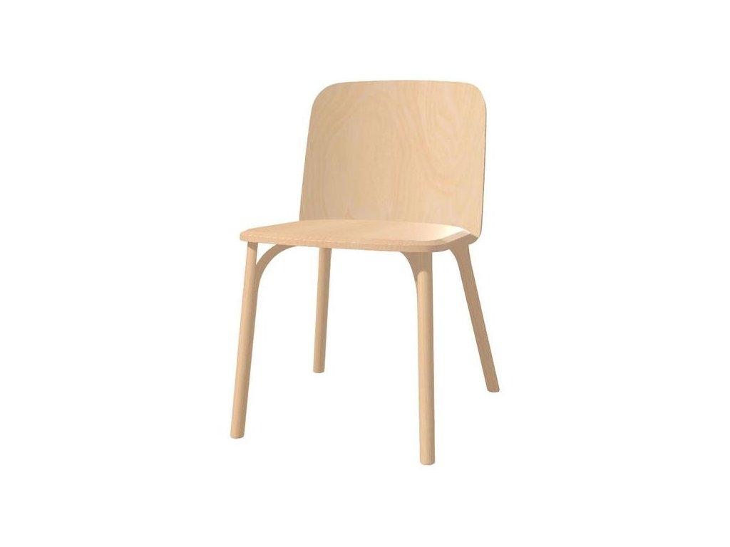 Dřevěná jídelní židle Split. Na objednávku. Cena na dotaz.