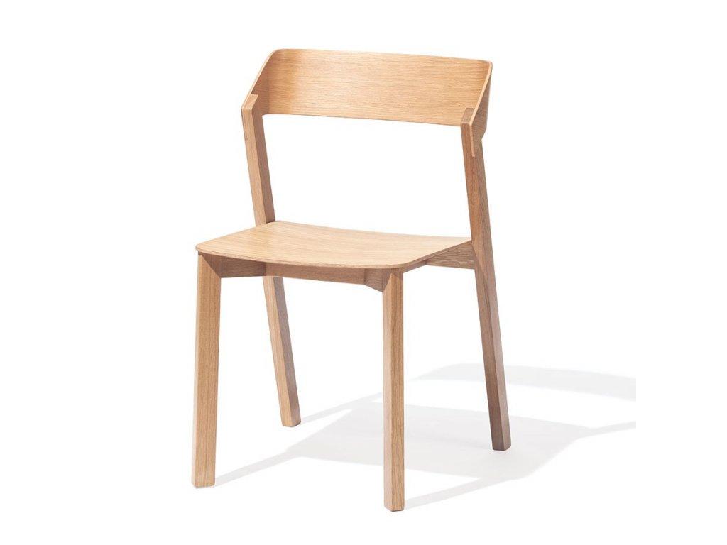 Dřevěná moderní židle Merano. Na objednávku. Cena na dotaz.