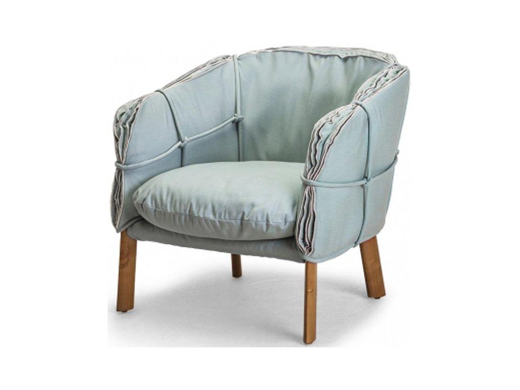 Designové lounge křeslo Parchment