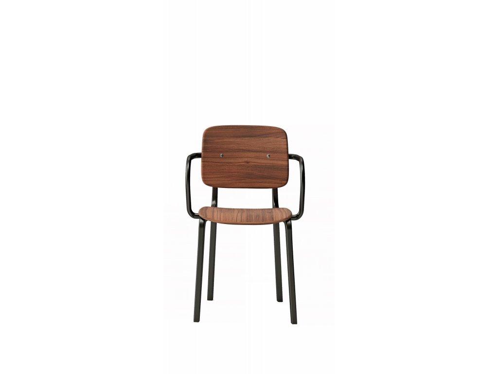Moderní židle Ekki s područkami, Na objednávku. Cena na dotaz.