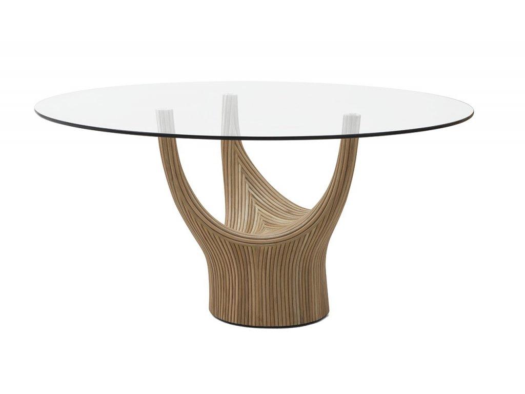 Designový jídelní stůl Acacia pr. 120