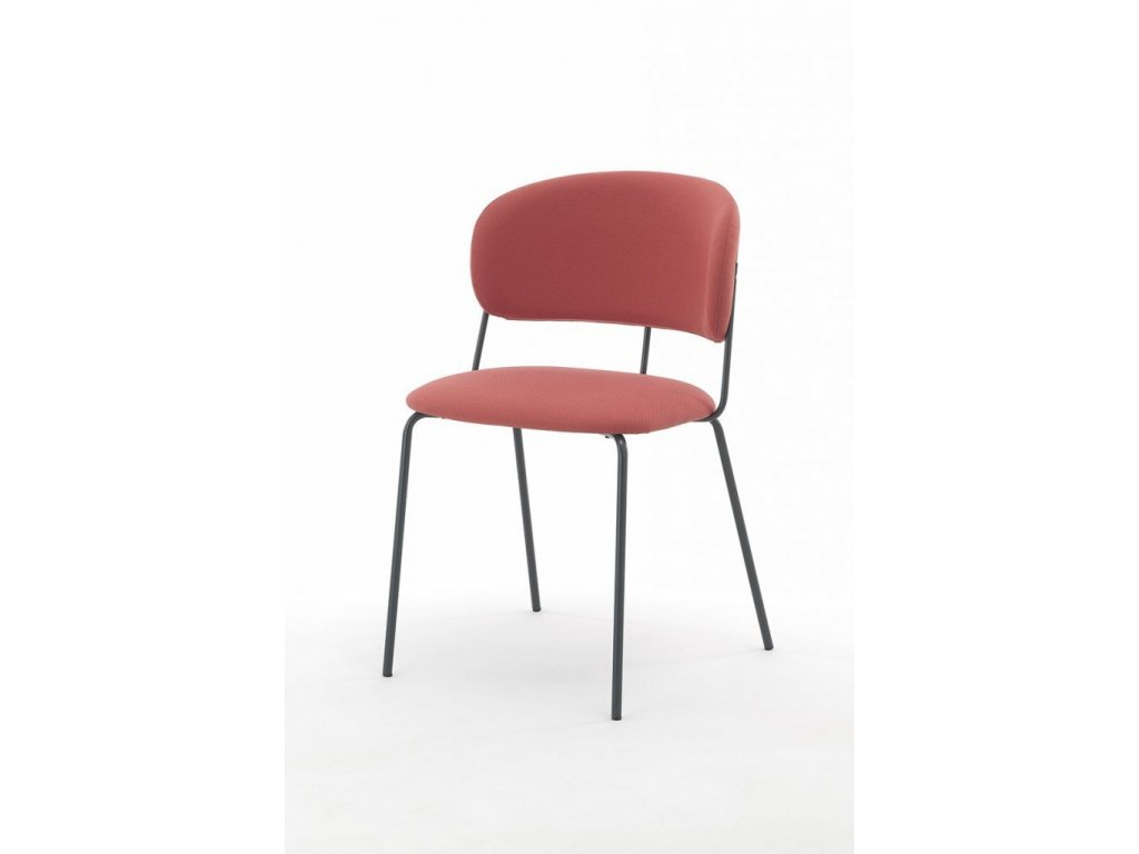 Minimalistická čalouněná židle Nikita