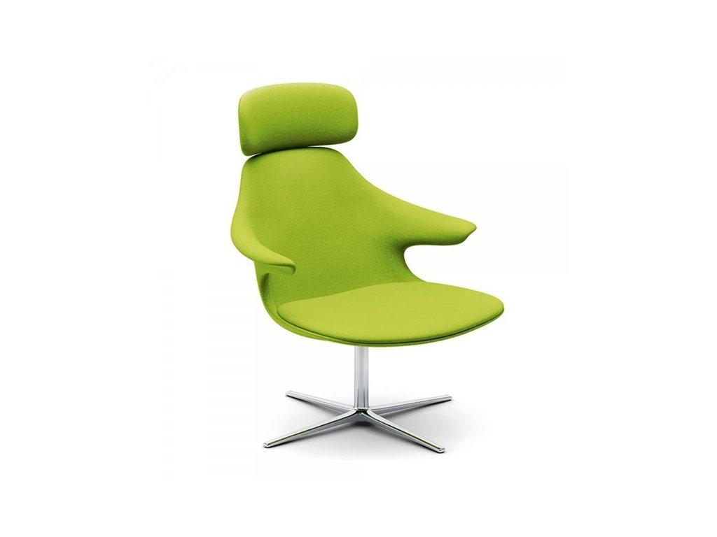 Designové křeslo Loop lounge Headrest