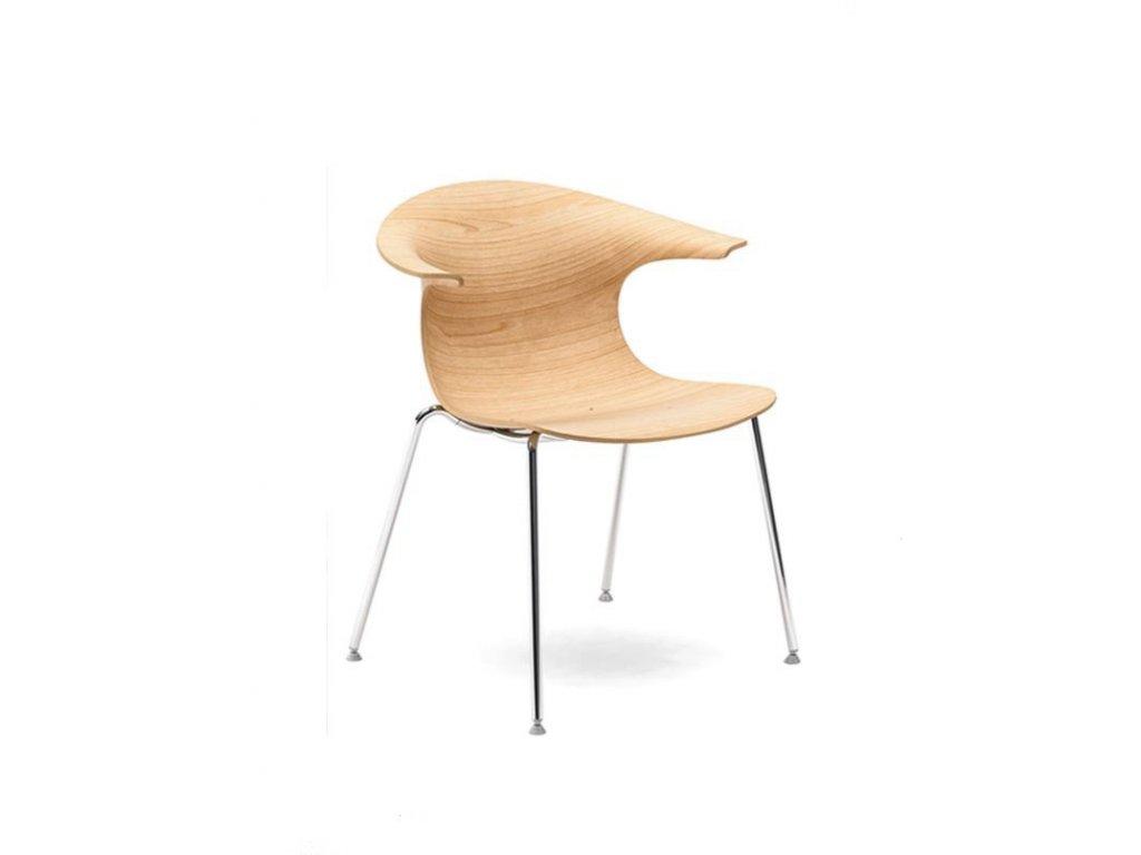 Luxusní dřevěné křeslo Loop 3D wood