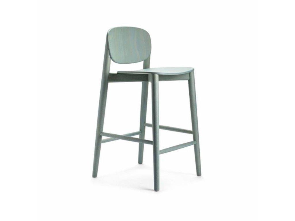 Dřevěná barová židle Harmo