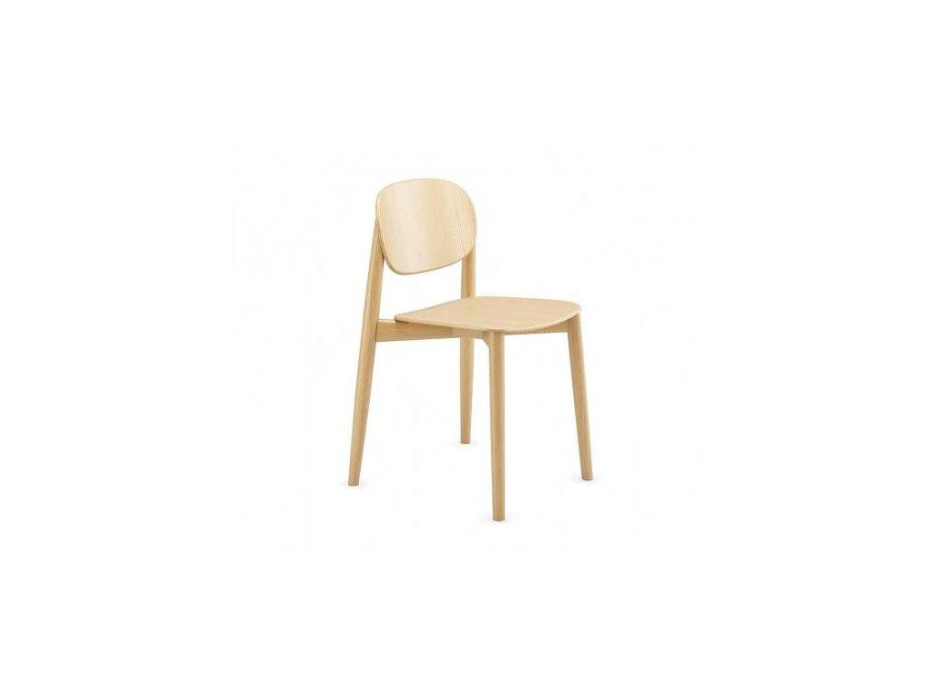 Moderní dřevěná židle Harmo
