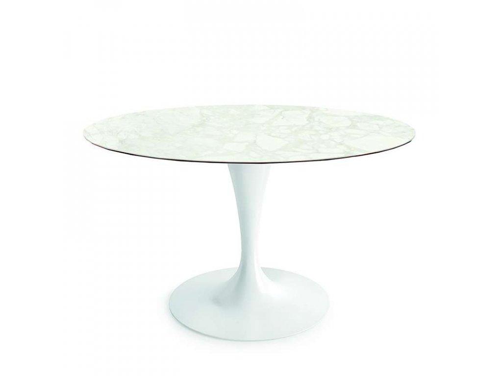 Elegantní kruhový stůl Flute pr. 130