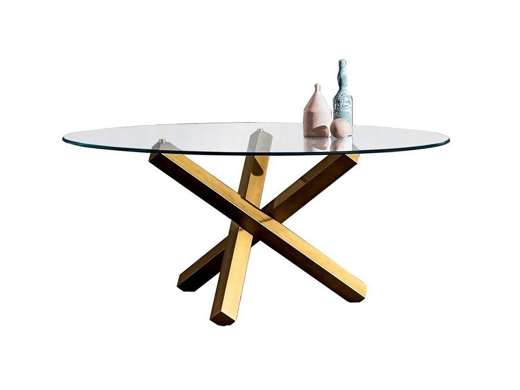 Moderní kruhový stůl Aikido pr. 140