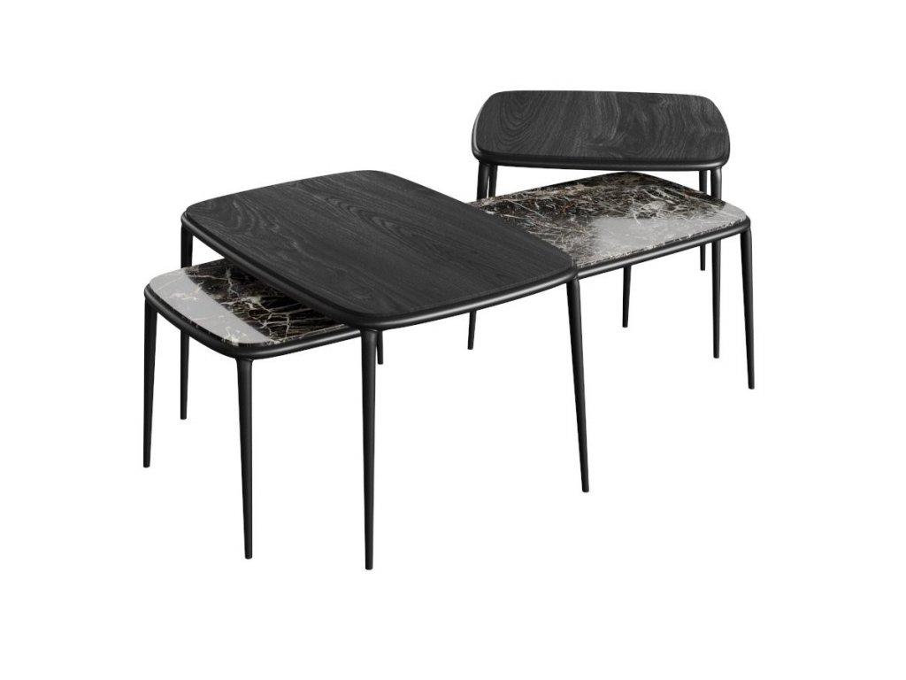 Moderní konferenční stolek Lea 65x40