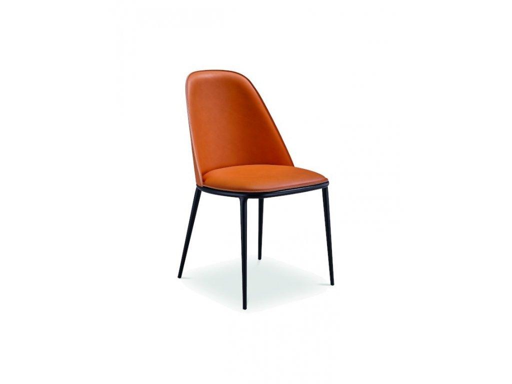 Moderní čalouněná židle Lea