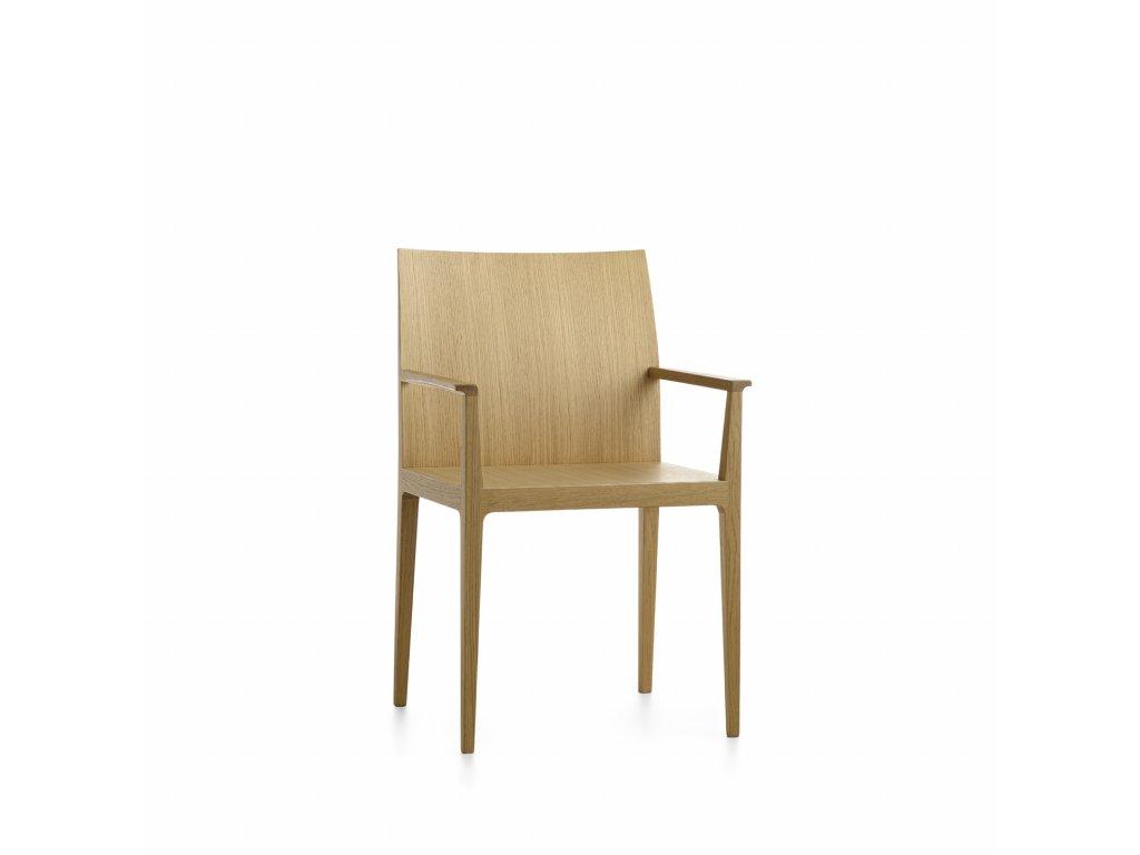 Moderní dřevěné křeslo Anna P