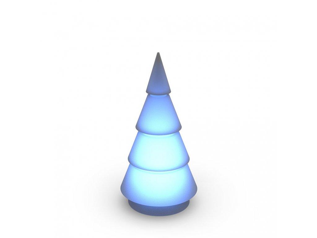 Vánoční stromek Forest s barevným osvětlením 200 cm