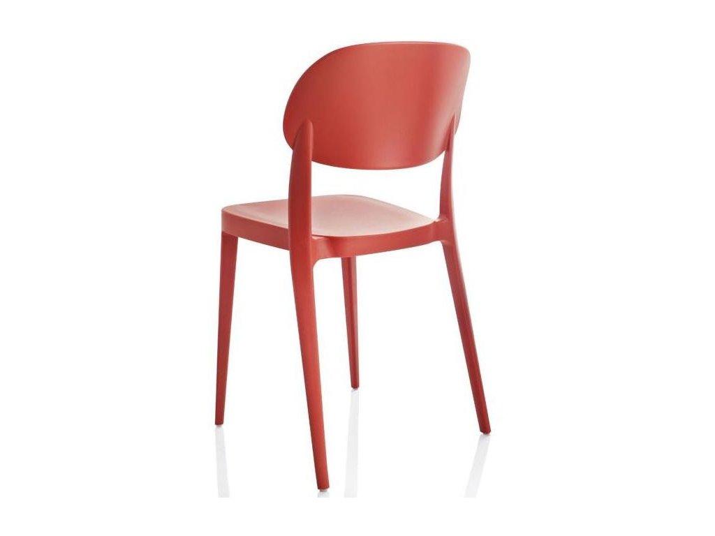 Výprodej! Moderní židle Amy 2 kusy červené