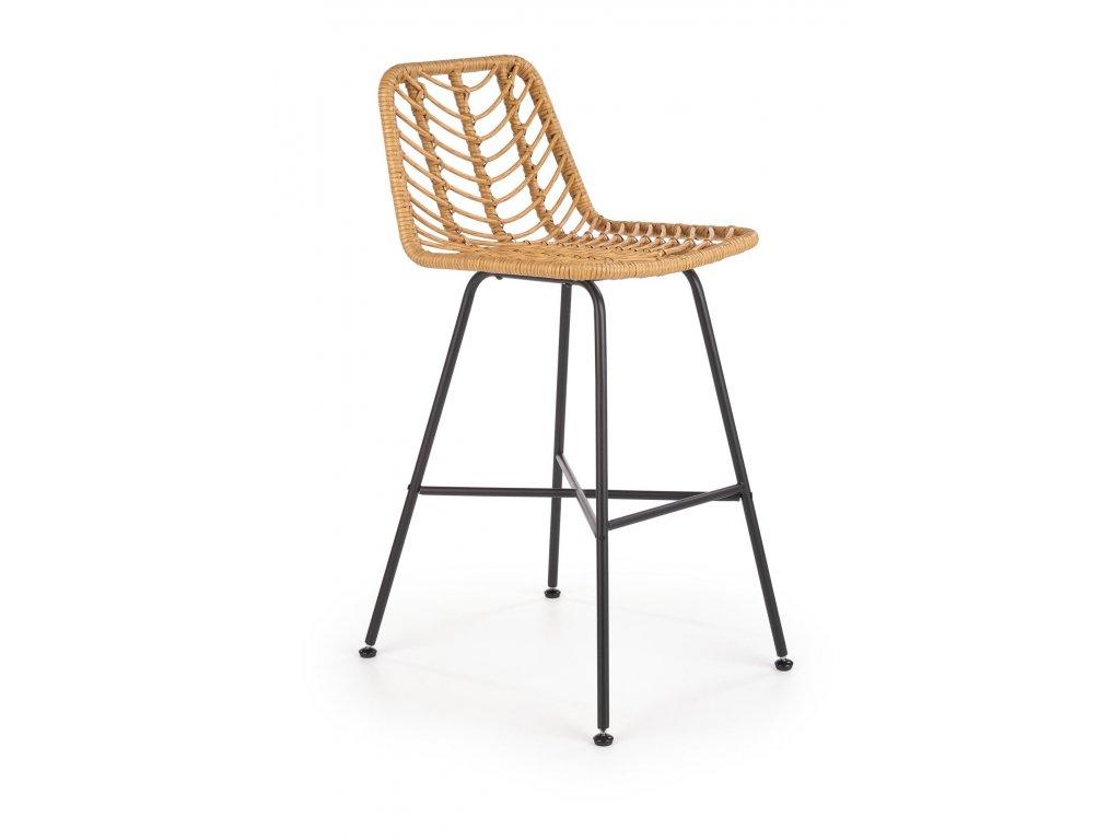 Ratanová barová židle H97