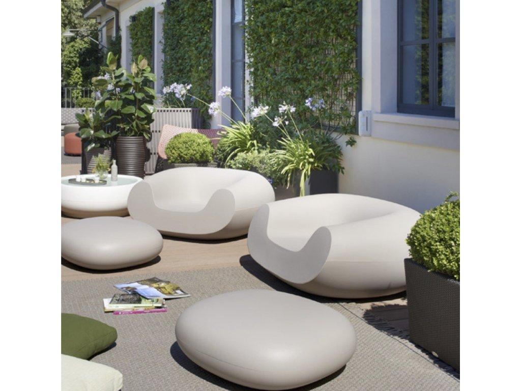 Moderní set záhradního sezení Chubby