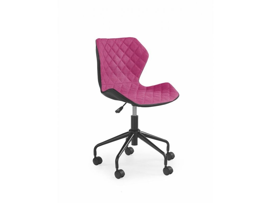 Moderní pracovní židle Matrix růžová