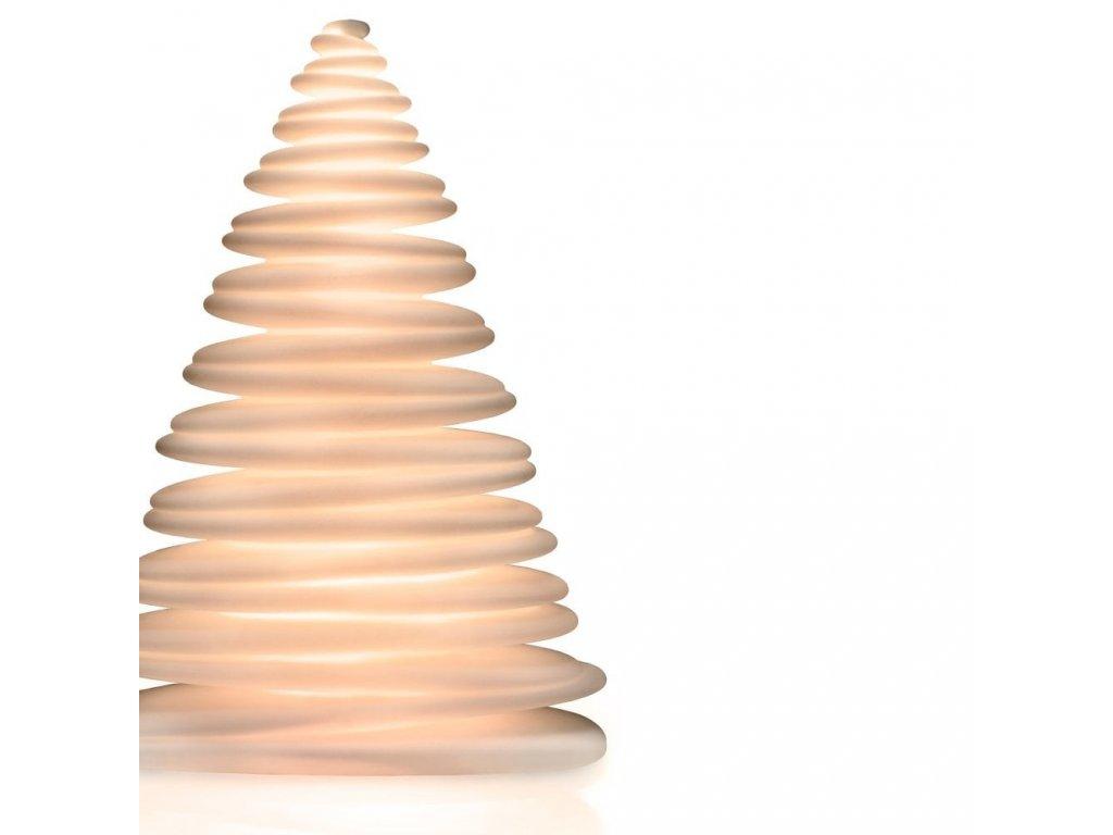 Dekorační vánoční stromek s barevným osvětlením 2 m