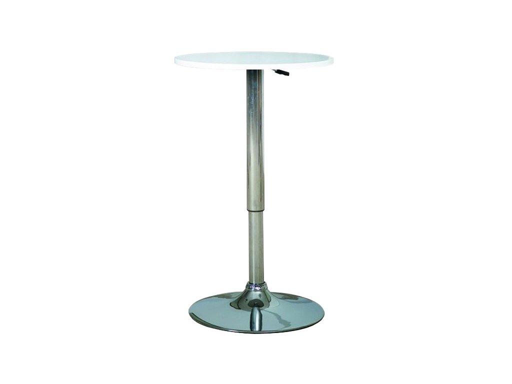 Barový stůl B 500 s nastavitelnou výškou pr. 60