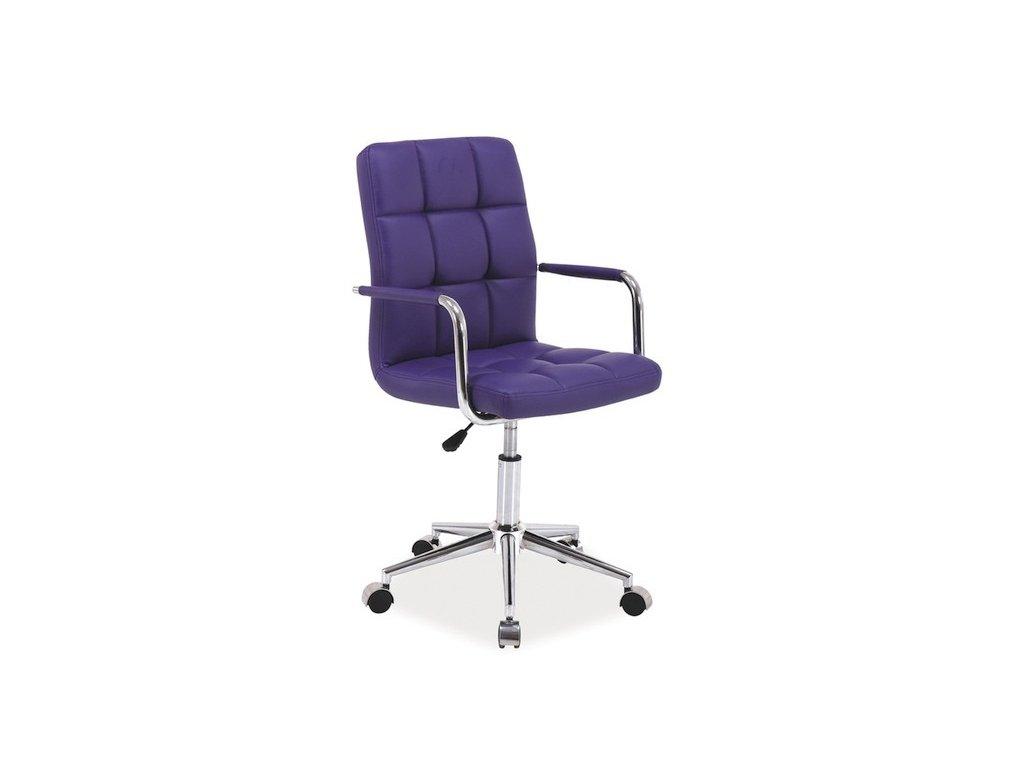 Pracovní židle s područkami Q 022 na kolečkách