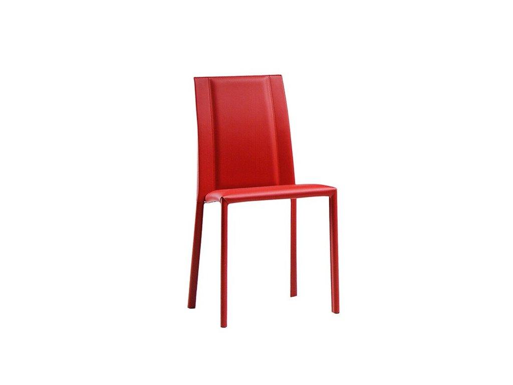 Moderní kožená židle Silvy SB R CU