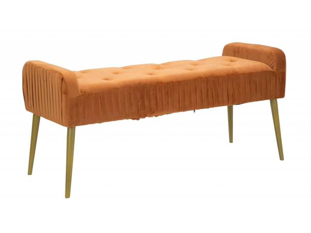 Čalouněná lavice Lady Ruggine