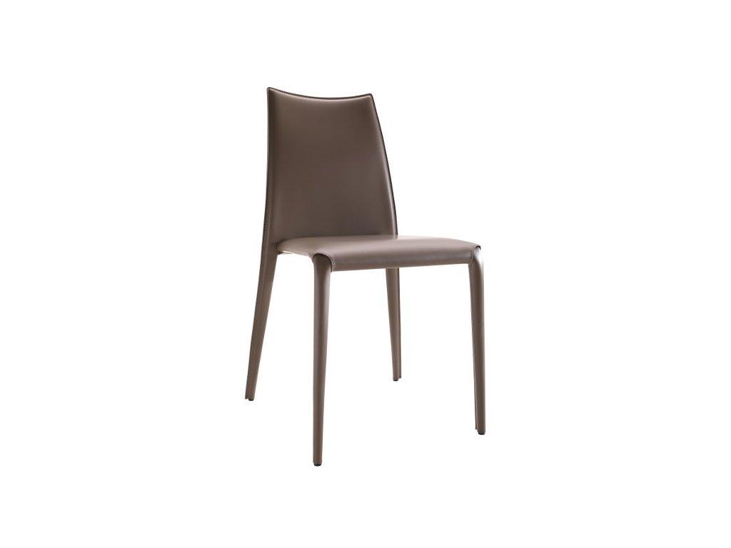 Luxusní kožená židle Miss S R CU
