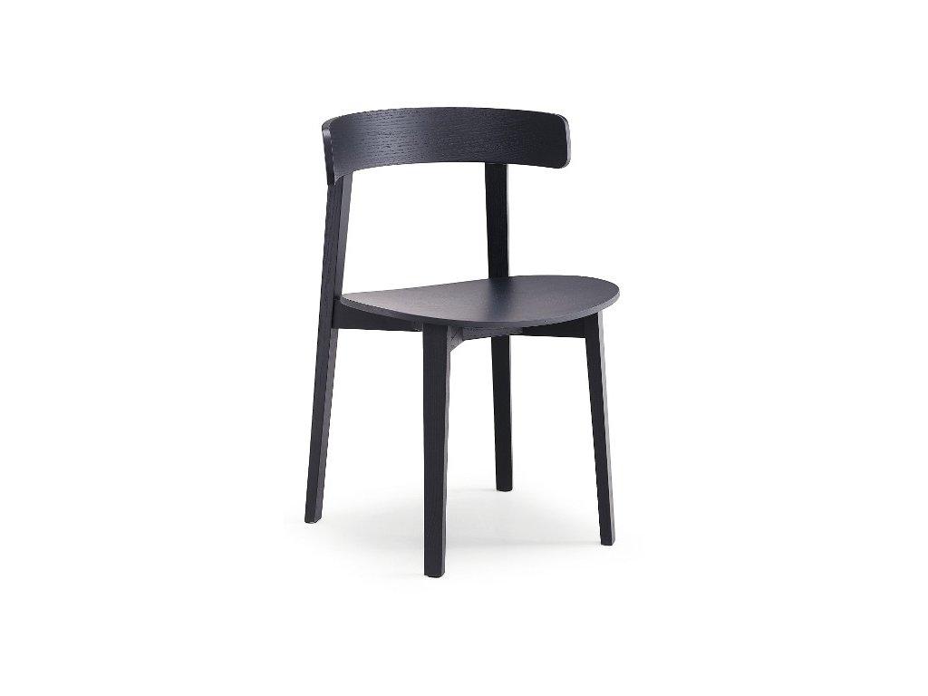 Moderní dřevěná židle Maya