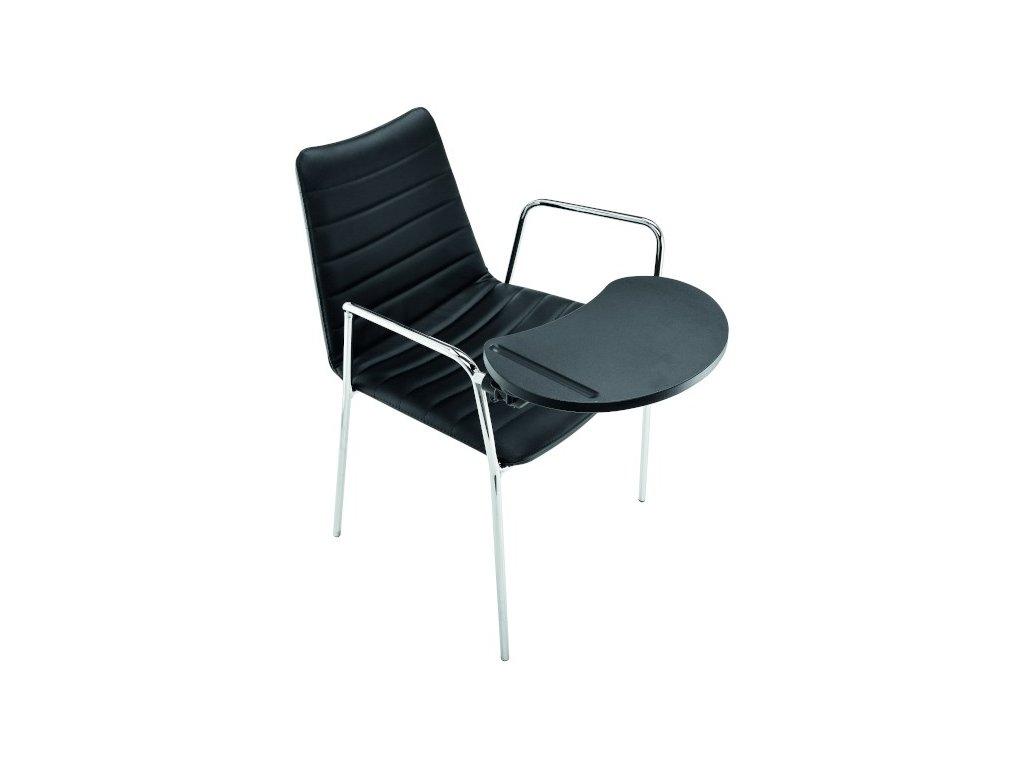 Čalouněná židle se stolkem COVER P M-TV TS