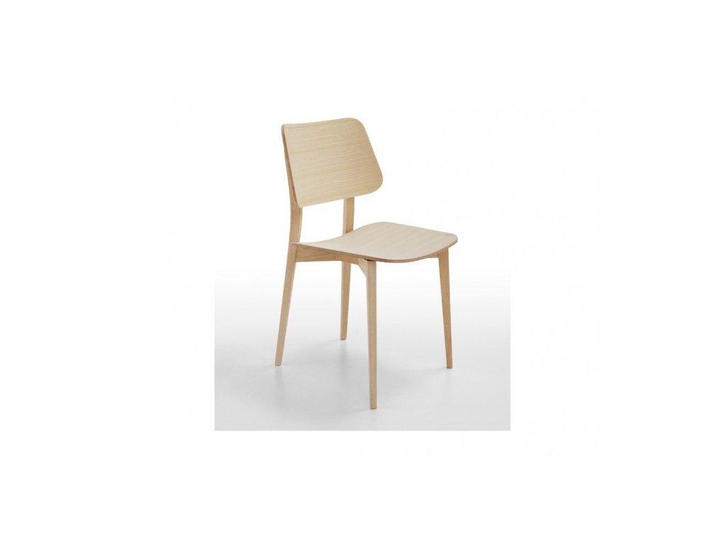 Moderní dřevěná židle Joe