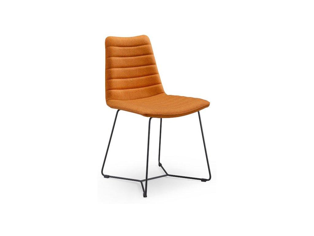 Moderní čalouněná židle Cover S M TS