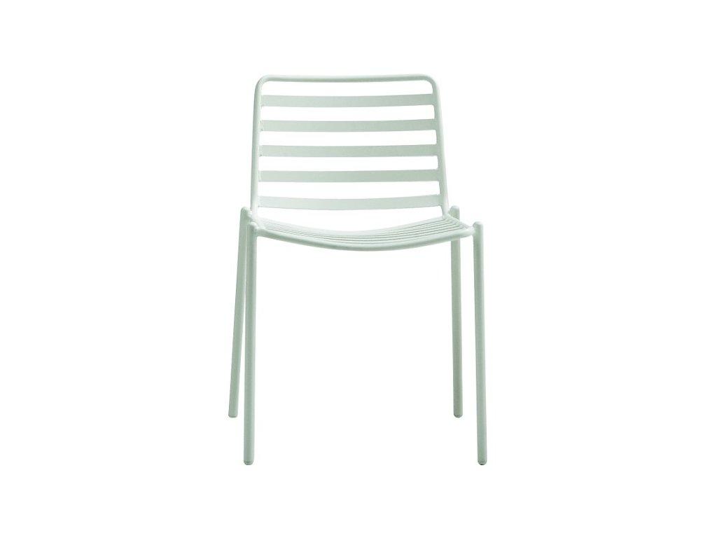 Kovová zahradní židle Trampoliere