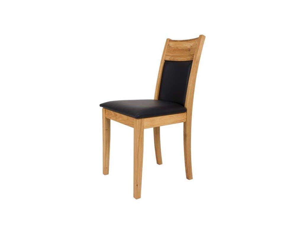 Moderní dubová čalouněná židle Z51