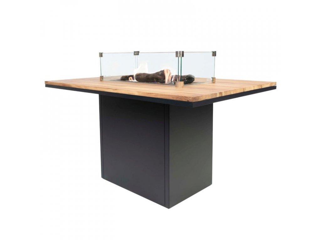 Jídelní stůl s ohništěm Cosiloft 120x80