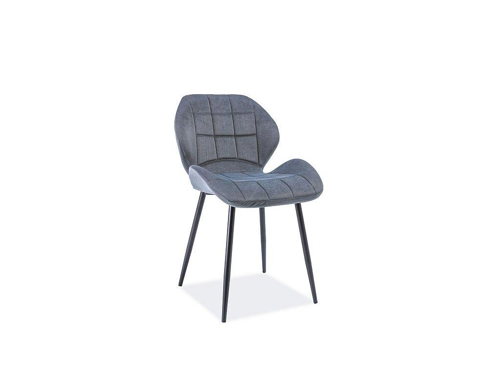 Moderní čalouněná židle Hals