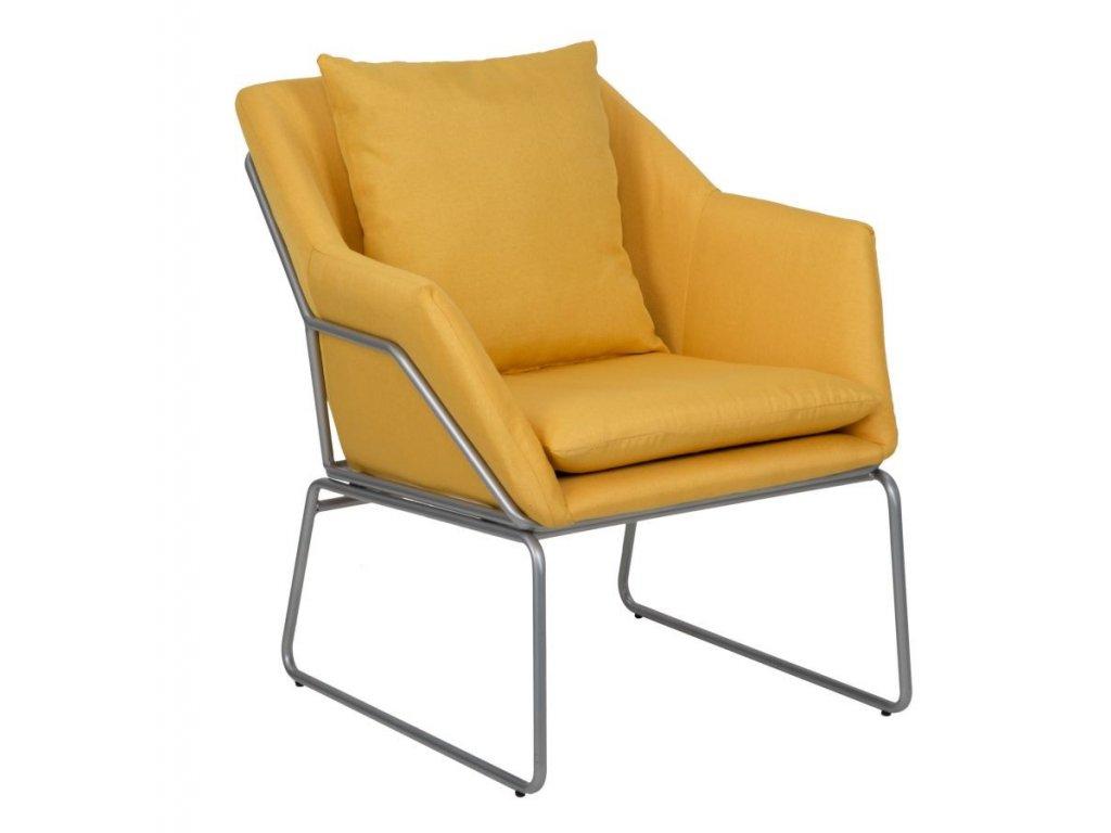 Moderní pohodlné křeslo Senape