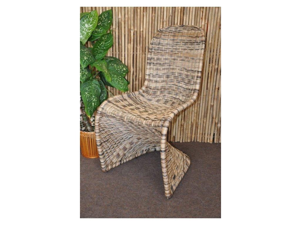 Designová ratanová židle Marryland
