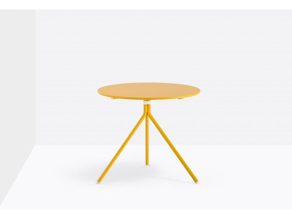 Nízký kovový stolek Nolita pr.60 cm