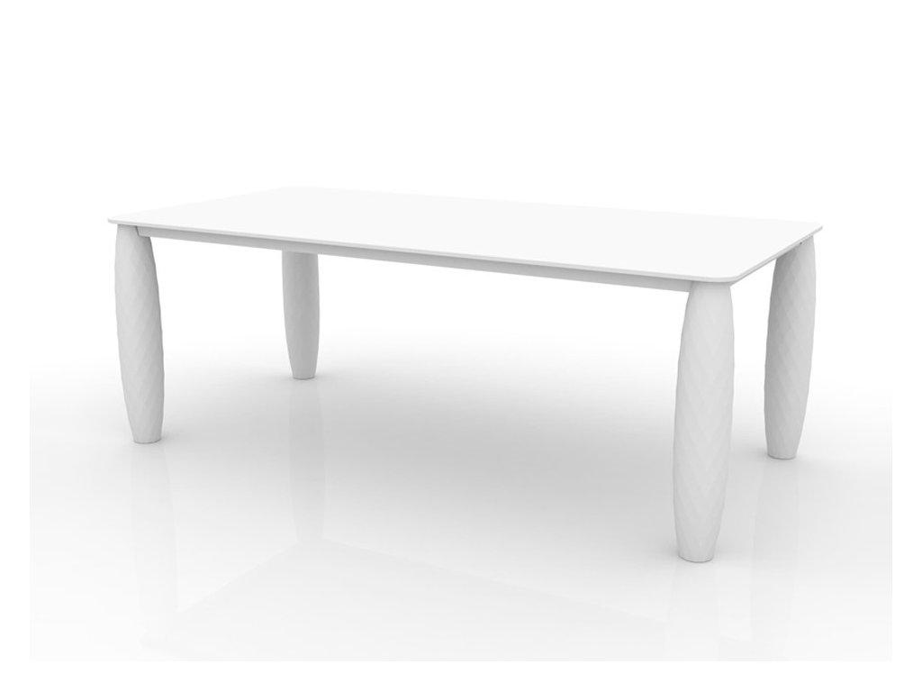 Moderní venkovní jídelní stůl Vases 210x100
