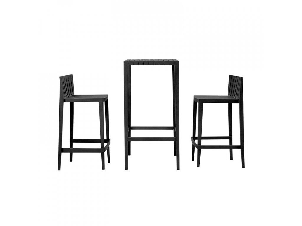 Set barového sezení Spritz 2x židle, 1x stůl