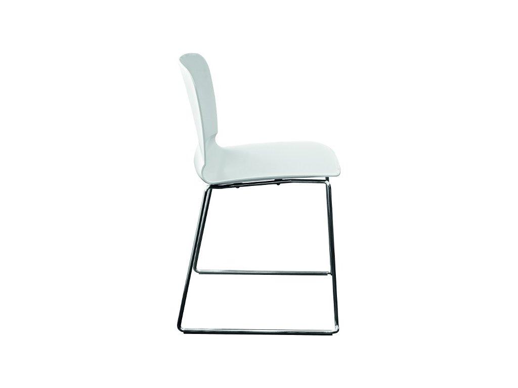 Moderní židle Liú S M RS, sáňková podnož